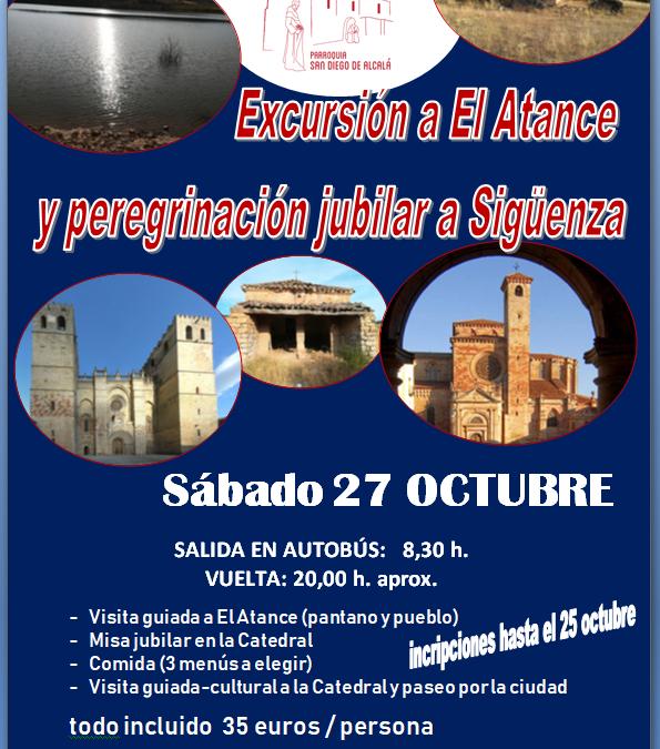 Excursión a El Atance y peregrinación jubilar a Sigüenza