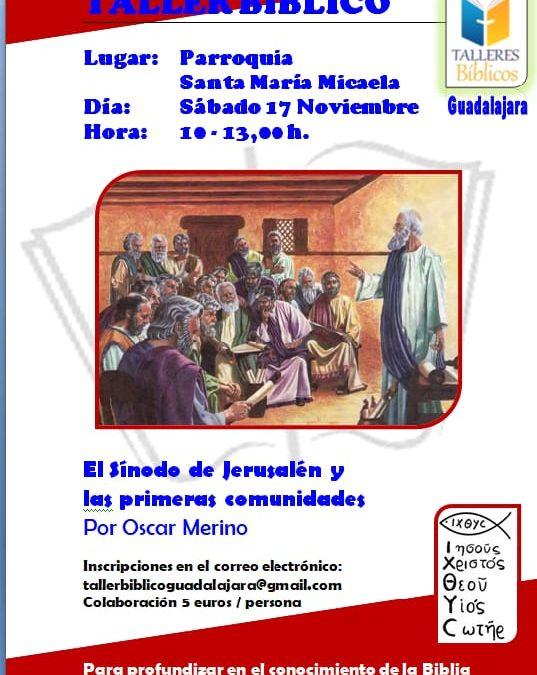 Taller Bíblico en Santa Mª Micaela