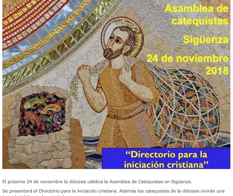 ASAMBLEA DE CATEQUISTAS 24 DE NOVIEMBRE SIGÜENZA