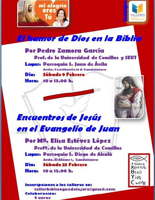 Dos nuevos Talleres bíblicos el 9 y 23 de febrero