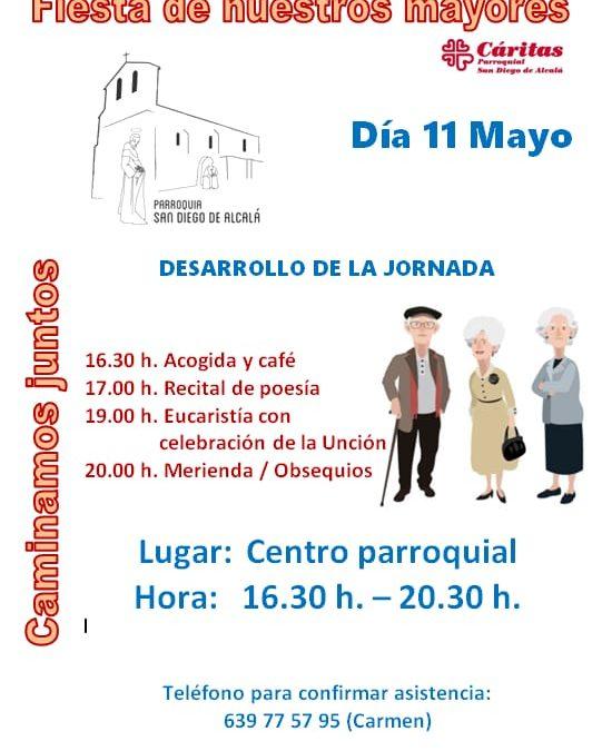 FIESTA DE NUESTROS MAYORES,  11 DE MAYO 2019