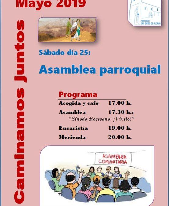 ASAMBLEA PARROQUIAL 25 DE MAYO