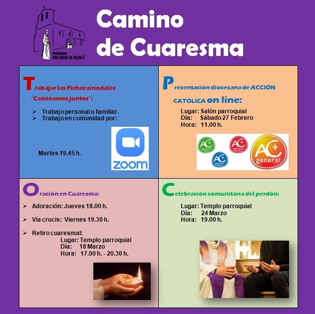 CAMINO DE CUARESMA
